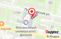 Схема проезда до компании Академия Бюджета и Казначейства Министерства Финансов Российской Федерации в Калуге