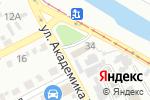 Схема проезда до компании InfoShina в Харькове