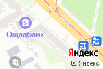Схема проезда до компании VOSSEN wheels в Харькове