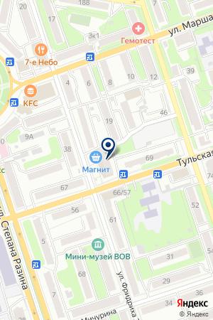 КАЛУЖСКИЙ ФИЛИАЛ АКБ ГАЗЭНЕРГОБАНК на карте Калуги