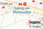 Схема проезда до компании Второе дыхание в Харькове