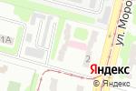 Схема проезда до компании Харківський міський шкірно-венерологічній диспансер №4 в Харькове