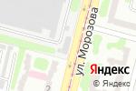 Схема проезда до компании Магазин автозапчастей в Харькове