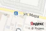 Схема проезда до компании Alfapay в Котлярах