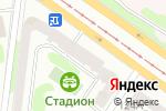 Схема проезда до компании Скан в Харькове
