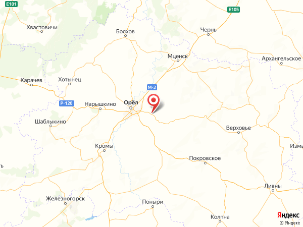 деревня Домнино на карте