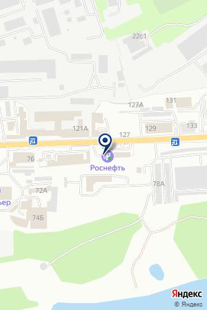 АЗС № 75 на карте Калуги