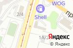 Схема проезда до компании VKS service в Харькове
