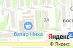 Схема проезда до компании Магазин одежды в Харькове
