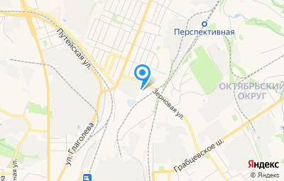 Местоположение на карте пункта техосмотра по адресу г Калуга, ул Зерновая, д 22