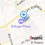 ГТП № 1 на карте Калуги