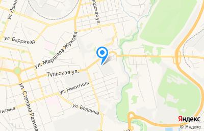 Местоположение на карте пункта техосмотра по адресу г Калуга, пер Тульский 2-й, д 3
