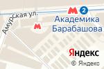 Схема проезда до компании Магазин свадебных платьев в Харькове
