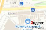 Схема проезда до компании Глечик в Харькове