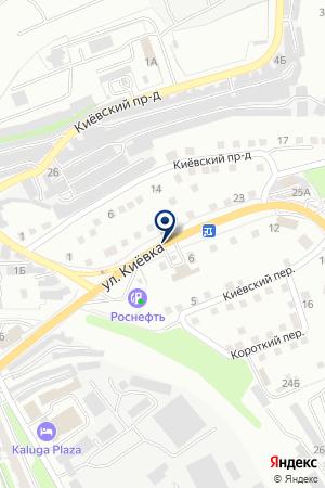 АЗС № 7 на карте Калуги