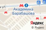 Схема проезда до компании Магазин верхней одежды в Харькове
