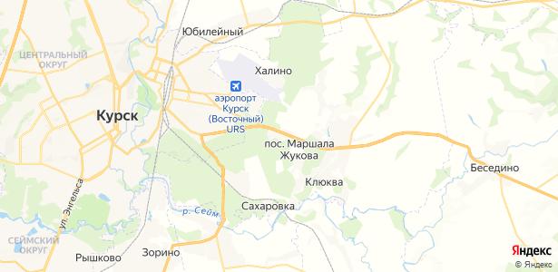 Подлесный на карте