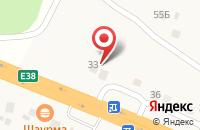 Схема проезда до компании Автосервис в Долгом