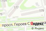 Схема проезда до компании Прана в Харькове