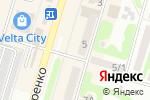 Схема проезда до компании КБ ПРАВЭКС-БАНК, ПАО в Харькове