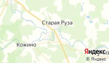 Гостиницы города Старая Руза на карте