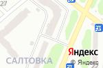 Схема проезда до компании Amelie в Харькове