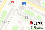 Схема проезда до компании Нотариусы Трофименко Е.В. и Конопацкая О.Б. в Харькове