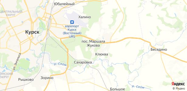 Маршала Жукова на карте