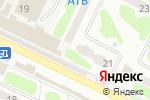 Схема проезда до компании Нотариус Гончаренко О.Н. в Харькове