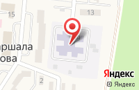 Схема проезда до компании Родничок в Долгом