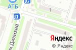 Схема проезда до компании Нейрон в Харькове