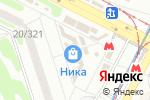 Схема проезда до компании Халина Е.Н., ЧП в Харькове