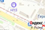 Схема проезда до компании Техносервис в Харькове