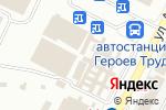 Схема проезда до компании Амбар в Харькове