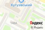 Схема проезда до компании Helen Doron English в Харькове