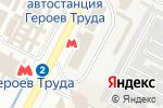 Схема проезда до компании Умелец в Харькове