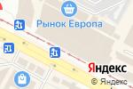 Схема проезда до компании МИДА в Харькове