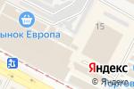 Схема проезда до компании Магазин спорттоваров в Харькове
