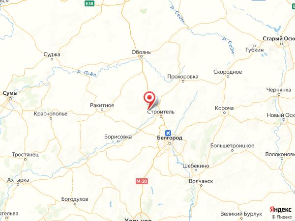 село Дмитриевка на карте