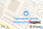 Схема проезда до компании Ломбардика в Харькове