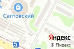 Схема проезда до компании ВелоСпорт в Харькове