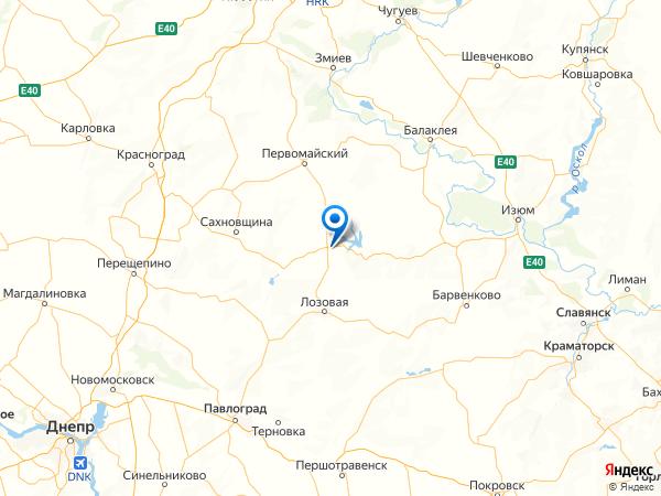 поселок Молчаново на карте