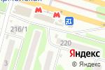 Схема проезда до компании Новожановский мясокомбинат в Харькове