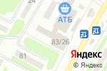 Схема проезда до компании Почтовое отделение №144 в Харькове