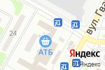 Схема проезда до компании Эллада в Харькове