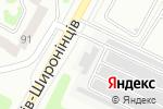 Схема проезда до компании Holydance в Харькове