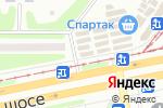 Схема проезда до компании Квітка сервіс в Харькове