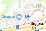 Схема проезда до компании Карат в Харькове