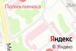 Схема проезда до компании Харківська обласна клінічна травматологічна лікарня в Харькове