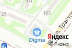 Схема проезда до компании Sintagma в Харькове